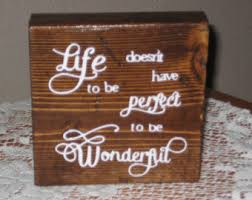 Word Blocks Home Decor Stained Wood Blocks Etsy