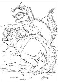 print u0026 download rex dinosaur coloring pages