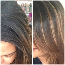 hair frosting for dark hair best at home highlighting kit for dark hair xoxo kaymo
