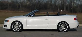 audi s5 convertible white review 2010 audi s5 cabriolet speaks softly but carries a