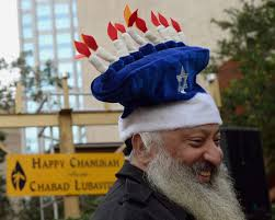 hanukkah hat gets lighted at hanukkah celebration in ta tbo