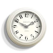 silent wall clocks silent wall clock white cream newgate dormitory