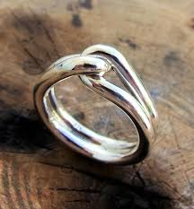 commitment ring promise ring ring sterling silver rings knot ring
