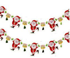 buy 10set lot decorations santa claus flags