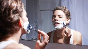 stop womens chin hair growth should women shave their faces