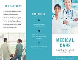 medical brochure templates canva