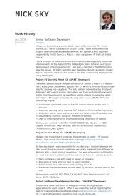 Developer Resume Sample by Senior Software Developer Resume Samples Visualcv Resume Samples