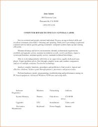 Warehouse Resume Objective Sample Resume For General Laborer General Laborer Job Description