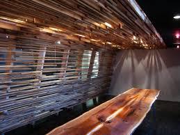 Rustic Wood Interior Walls Interior Cozy Light Brown Wood Slats For Walls Including Lcd Tv