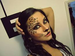 Cool Cat Halloween Costume 25 Cheetah Costume Ideas Leopard Makeup
