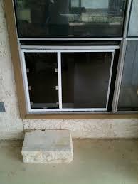Patio Door Cat Flap by Glass Doggie Doors