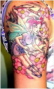 43 fairy tattoos on sleeve
