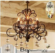Country Style Chandelier American Country Style Chandelier Restaurant Bar Suitable Glass
