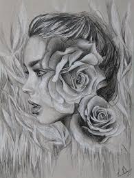 drawings and sketches lena danya