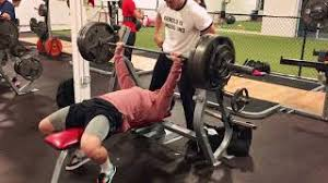 Mike O Hearn Bench Press Hmongbuy Net Chest Workout Justin Martilini