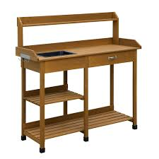 potting table with sink garden potting table bench for sale with sink diy galettedesrois info