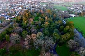 Kyneton Botanical Gardens Gardens Dronestagram