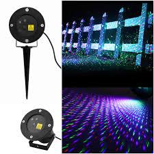 rgb waterproof laser lighting landscape active garden light