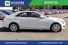 2013 cadillac ats white white cadillac ats in massachusetts for sale used cars on