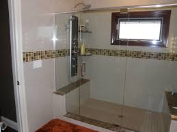 Open Bathroom Design by Glamorous Open Shower Stall Design Pics Ideas Surripui Net
