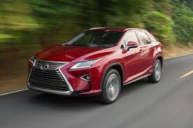 red lexus 2016 lexus rx first drive review motor trend