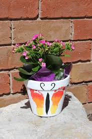 s day flower pot gift tutorial the inspired home