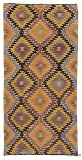 k0020018 orange vintage mut kilim rug kilim rugs overdyed