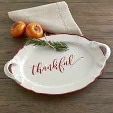 ceramic serving platters birch thankful serving platter reviews wayfair