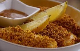cuisiner poisson blanc poisson à la milanaise pané recette dukan pp par spicy