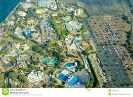 San Diego Bay Map by Aerial View Of Seaworld San Diego Stock Photo Image 42211826