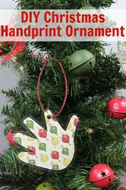 diy handprint keepsake christmas ornament beauty through