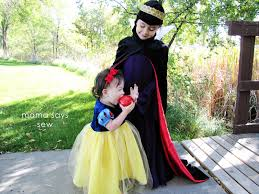mama says sew snow white and the evil queen halloween costumes