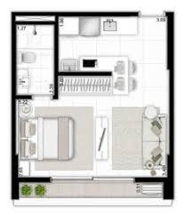 Studio Apartment Floor Plans by 20ftx24ft Cabin Or Studio Apartment Layout Compact Living Spaces