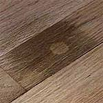 how to cheaply remove black urine stains from hardwood floors
