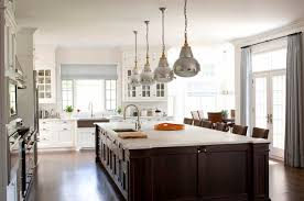 white kitchen cabinets with dark stained island 3526 home and