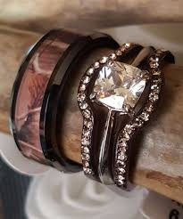 camo wedding rings his and hers jewelry rings camo wedding rings sets for his and hers pink with