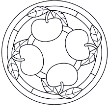 apple mandala coloring pages mandala coloring pages of