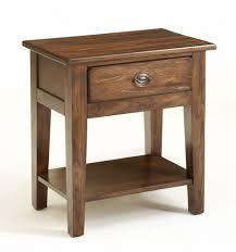 nightstand dazzling broyhill attic heirlooms rustic oak
