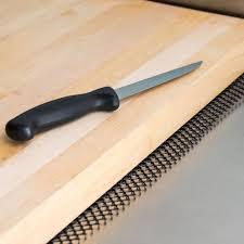Kitchen Cabinet Liner 2 U0027 Black Plastic Mesh Bar Mat Black Shelf Liner
