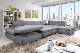 Wohnzimmer Couch Poco Poco Polstermöbel Houston U Förmiges Sofa In Grau Möbel Letz