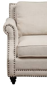 Grey Linen Sofa by Camden Beige Linen Sofa From Tov Tov 63802 3 Beige Coleman