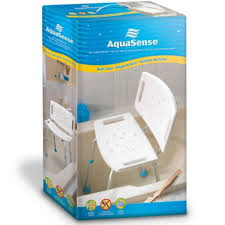 look at aquasense adjustable bath seat with back discounted below