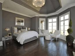 bedroom designs for adults dark grey wallpaint beige frilled