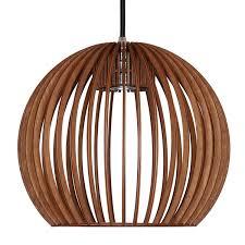 Esszimmer Deckenlampe Xxl 55cm Wohnzimmer Deckenleuchte Aus Holz Natur