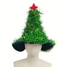 tinsel christmas tree tinsel christmas tree hat on 1pc headband christmas