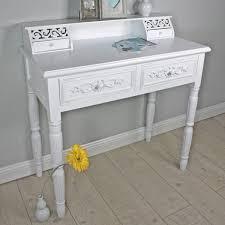Wohnzimmerm El Im Englischen Stil Elbmöbel Sekretär In Weiß Aus Holz Im Landhaus Stil Schreibtisch