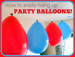 cheap balloons how to easily hang up party balloons easy cheap birthday party