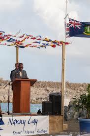 Bvi Flag Nanny Cay Ceremony Officially Opens New Outer Marina Nanny Cay