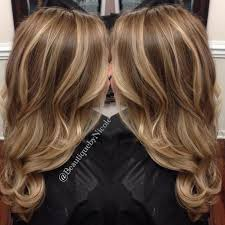 idears for brown hair with blond highlights hair color trends 2017 2018 highlights balayage on long hair