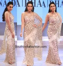 dhaka sarees karishma kapoor in rina dhaka saree south india fashion